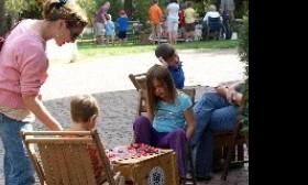 Checkers in the park...a great pastime....